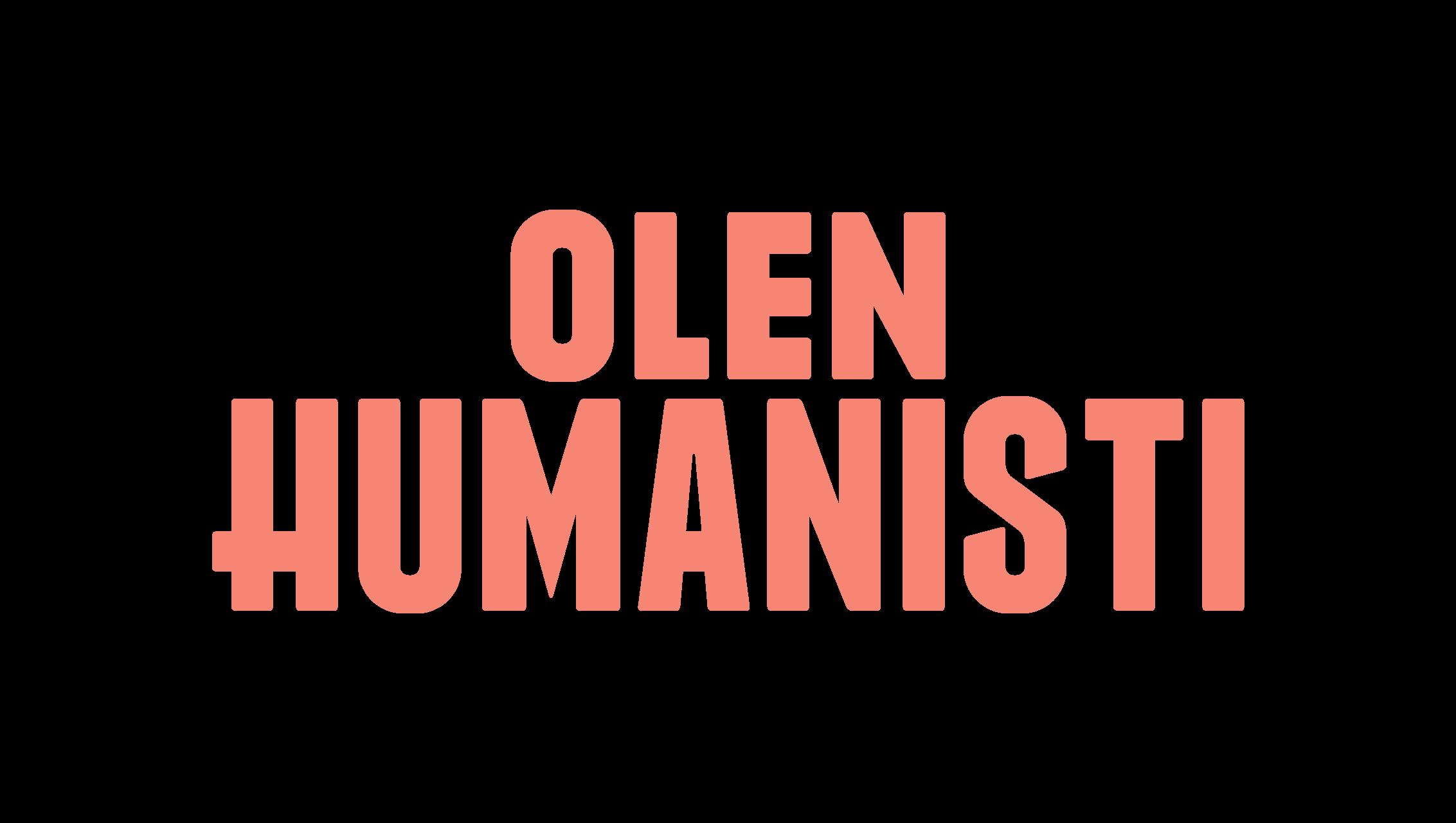 Olen humanisti logo