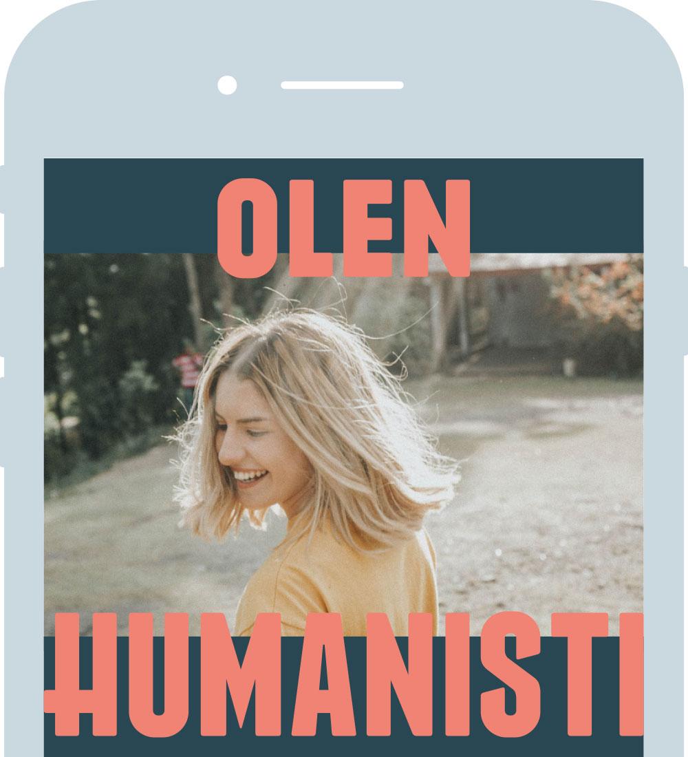 Olen humanisti: some-raamit
