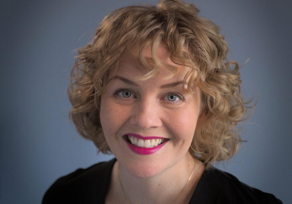 Anni Myyrä on yksi kampanjan humanisteista